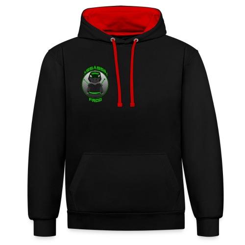 Men's Assassinfrog  - Contrast Colour Hoodie