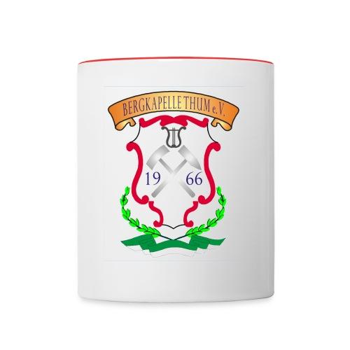 Kaffeebecher - Tasse zweifarbig