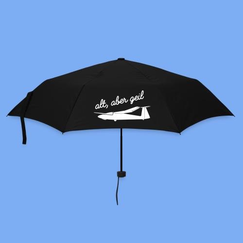 alt, aber geil Pirat SZD Segelflugzeug Geschenk - Umbrella (small)