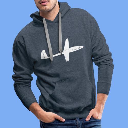 Segelfliegen Segelflieger Geschenk Pilot Jantar - Men's Premium Hoodie