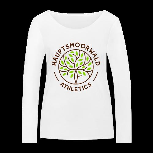 Hauptsmoorwald Athletics - #fürdenhauptsmoorwald - Frauen Bio-Langarmshirt von Stanley & Stella