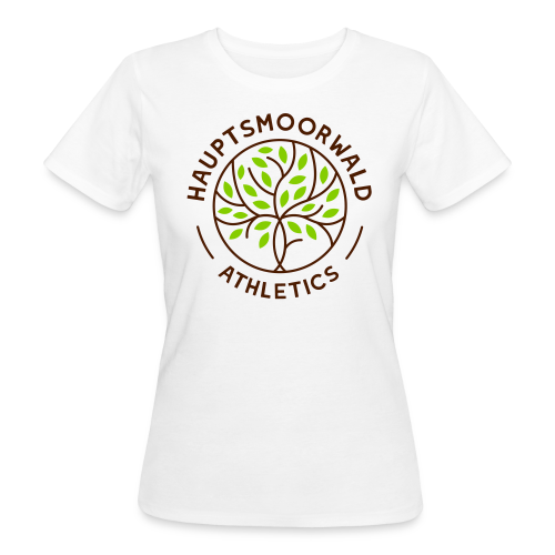 Hauptsmoorwald Athletics - #fürdenhauptsmoorwald - Frauen Bio-T-Shirt