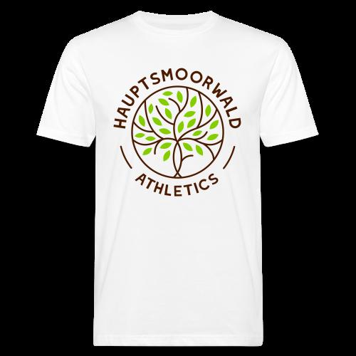 Hauptsmoorwald Athletics - #fürdenhauptsmoorwald - Männer Bio-T-Shirt