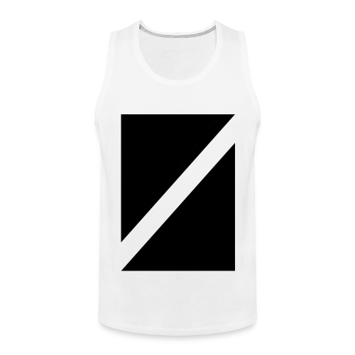 Square-Cut Front Tt - Men's Premium Tank Top