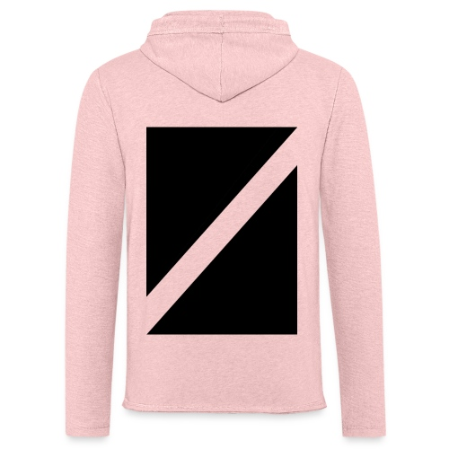 Square-Cut Back - Light Unisex Sweatshirt Hoodie