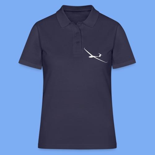 Segelflugzeug ASW28 Segelflieger Geschenk T-Shirt Bekleidung Flieschen - Women's Polo Shirt