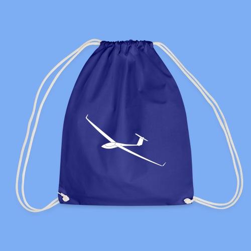 Segelflugzeug ASW28 Segelflieger Geschenk T-Shirt Bekleidung Flieschen - Drawstring Bag