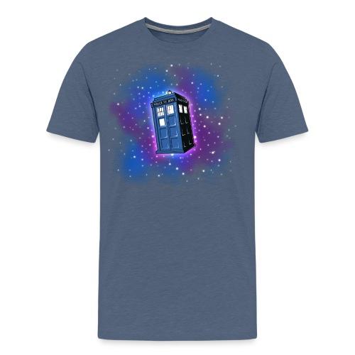 Tardis (alle anderen Hintergründe) Herren - Männer Premium T-Shirt