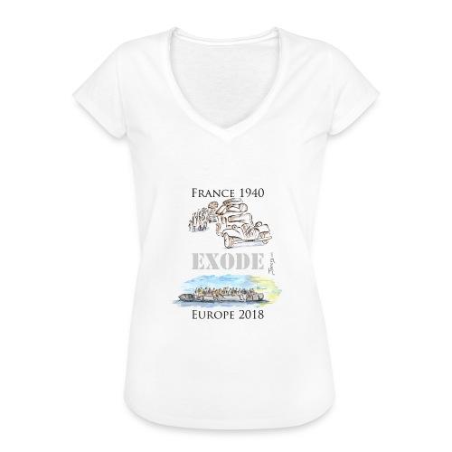 T-shirt vintage Femme - Marianne - T-shirt vintage Femme