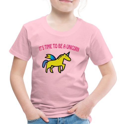 Kinder Premium T-Shirt: Einhorn - Unicorn - Kinder Premium T-Shirt