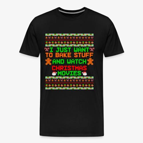 Männer Premium T-Shirt Bake Stuff Ugly Christmas - Männer Premium T-Shirt