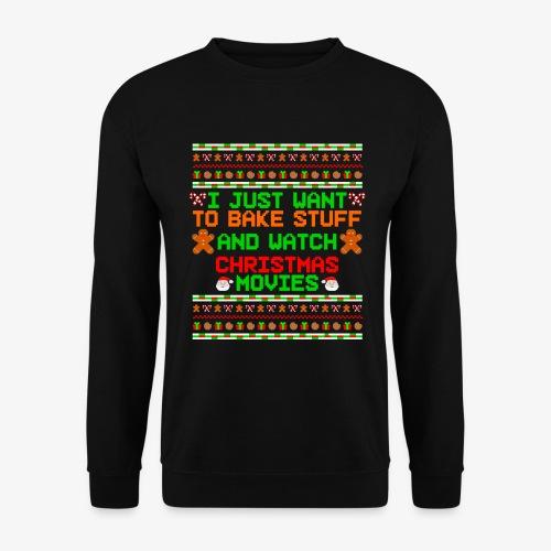 Männer Pullover Bake Stuff Ugly Christmas - Männer Pullover