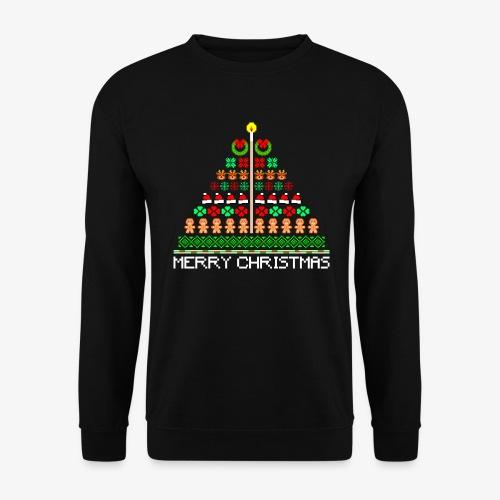 Männer Pullover Ugly Christmas Tree - Männer Pullover
