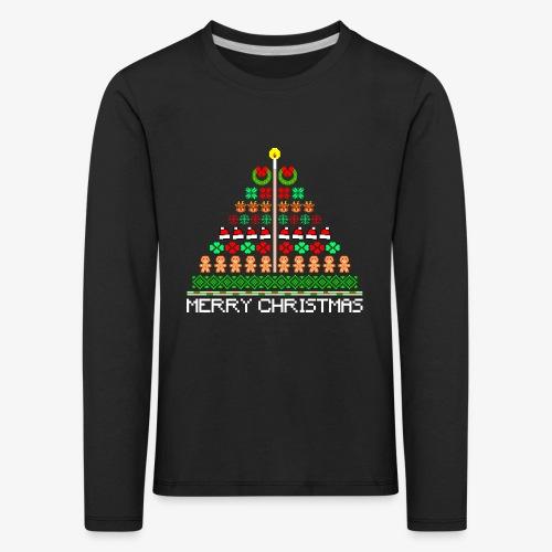 Kinder Premium Langarmshirt Ugly Christmas Tree - Kinder Premium Langarmshirt