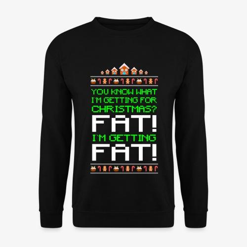Männer Pullover Getting fat Ugly Christmas - Männer Pullover