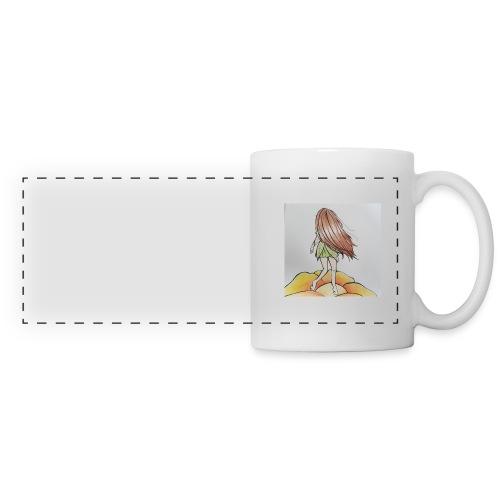 Mug Lily - Mug panoramique contrasté et blanc