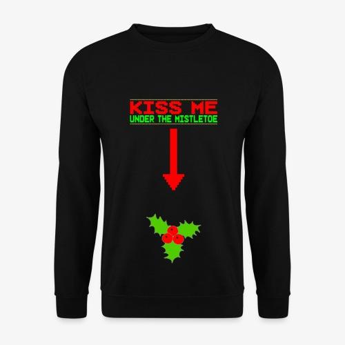 Männer Pullover Kiss me under the Mistletoe Ugly Christmas - Männer Pullover
