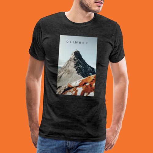 Climber - Print - Männer Premium T-Shirt