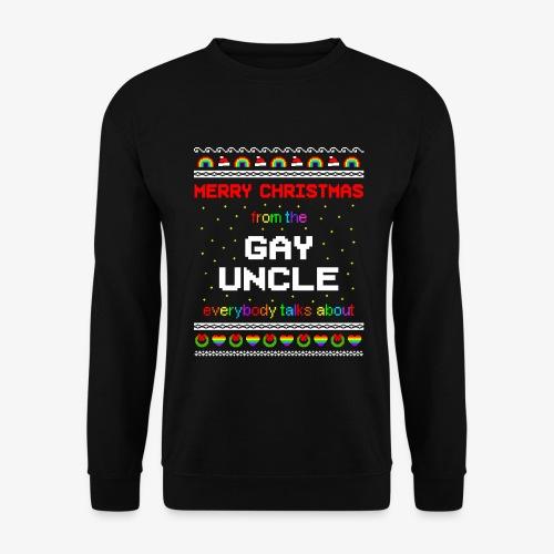 Männer Pullover Gay Uncle Ugly Christmas - Männer Pullover