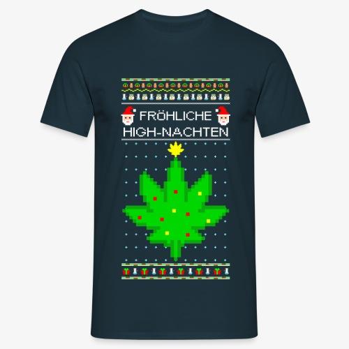 Männer T-Shirt Highnachten Ugly Xmas - Männer T-Shirt