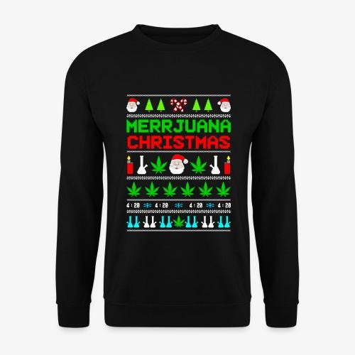 Männer Pullover MERRYjuana Ugly Xmas - Männer Pullover
