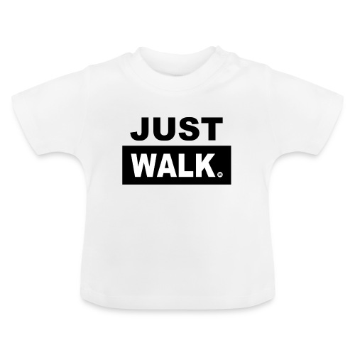 Baby T-shirt in wit - Baby T-shirt