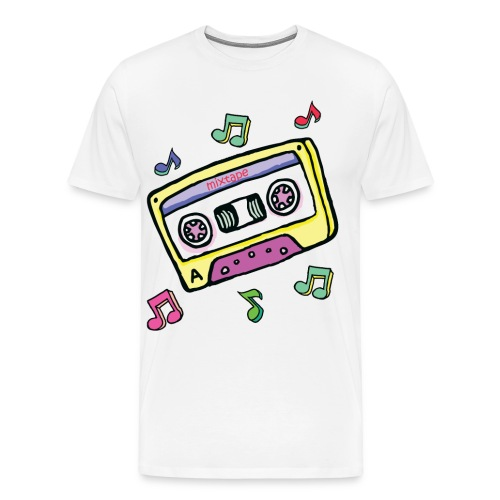 Mens Mixtape T-Shirt - Men's Premium T-Shirt