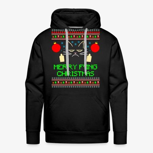 Männer Premium Hoodie Merry Fucking Christmas - Männer Premium Hoodie
