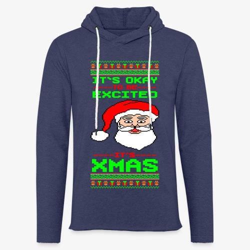 Leichtes Kapuzensweatshirt Unisex Its Xmas Time Ugly - Leichtes Kapuzensweatshirt Unisex