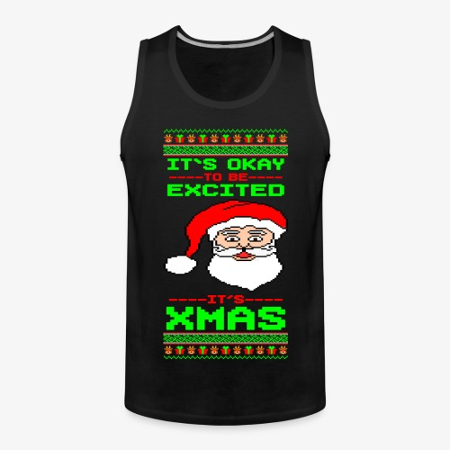Männer Premium Tank Top Its Xmas Time Ugly - Männer Premium Tank Top