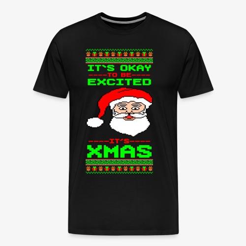 Männer Premium T-Shirt Its Xmas Time Ugly - Männer Premium T-Shirt