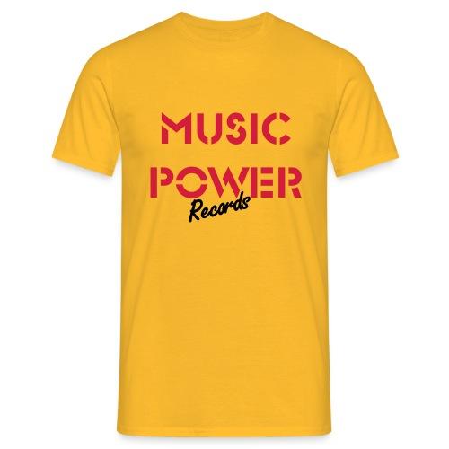 Old Skool Classic Music Power Tee Red/Black - Men's T-Shirt