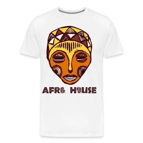 Mens Afro House T-Shirt - Men's Premium T-Shirt