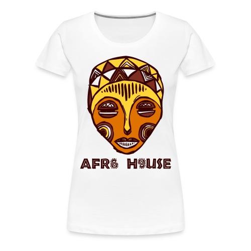 Ladies Afro House T-Shirt - Women's Premium T-Shirt