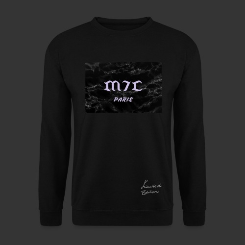 SERIE BLACK MARBLE - Sweat-shirt Homme
