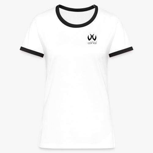 T-Shirt Femme Logotype  - T-shirt contrasté Femme