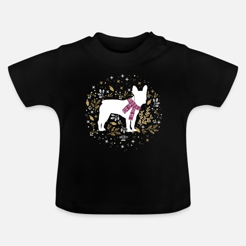 French Bulldog Winter - Baby T-Shirt