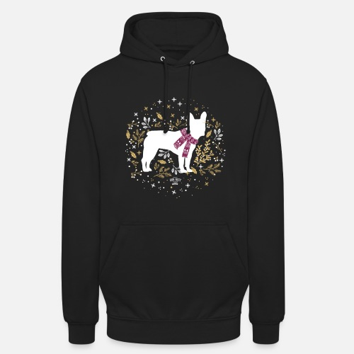 French Bulldog Winter - Unisex Hoodie