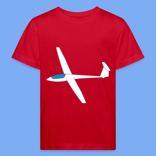 Segelfliegen Segelflieger Geschenk ASW19 - Kids' Organic T-Shirt
