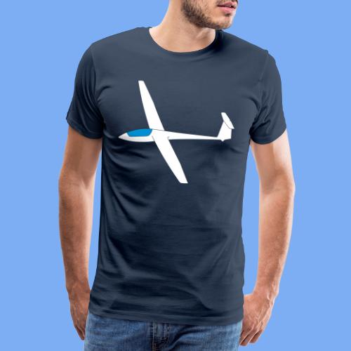 Segelfliegen Segelflieger Geschenk ASW19 - Men's Premium T-Shirt