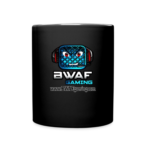 BWAFgaming New Logo Mug Black - Full Colour Mug
