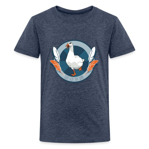 T-Shirt - Lat mi in Ruh (Teenies) - Teenager Premium T-Shirt