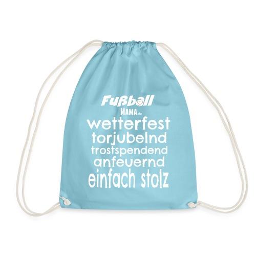 Fußball Mama.de - Turnbeutel