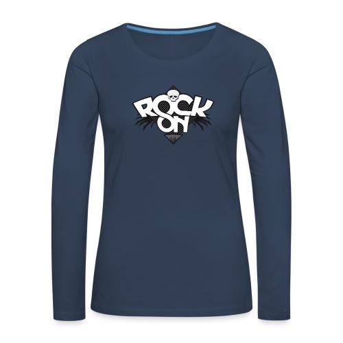 Rock on v2 - Vrouwen Premium shirt met lange mouwen