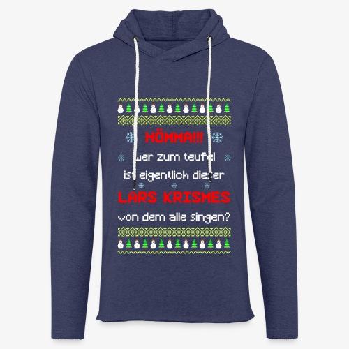 Leichtes Kapuzensweatshirt Unisex lars krismes Ugly Christmas - Leichtes Kapuzensweatshirt Unisex