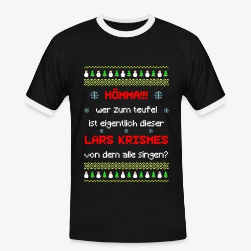 Männer Kontrast T-Shirt lars krismes Ugly Christmas - Männer Kontrast-T-Shirt