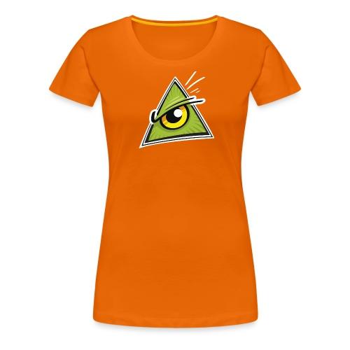 Illuminati Bunt  Damen - Frauen Premium T-Shirt