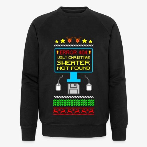 Männer Bio-Sweatshirt von Stanley & Stella Ugly christmas sweater not found - Männer Bio-Sweatshirt von Stanley & Stella