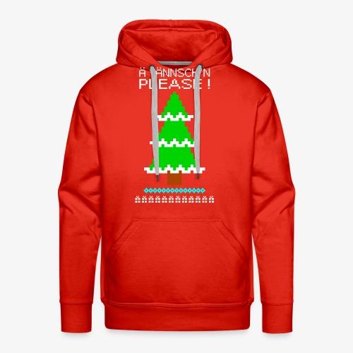 Männer Premium Hoodie Ä tännschn´n please Ugly Christmas - Männer Premium Hoodie