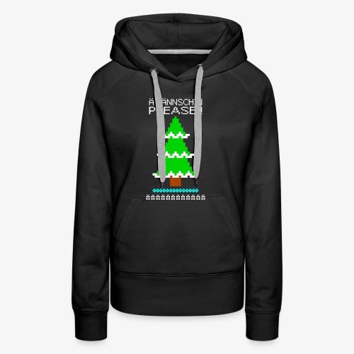 Frauen Premium Hoodie Ä tännschn´n please Ugly Christmas - Frauen Premium Hoodie